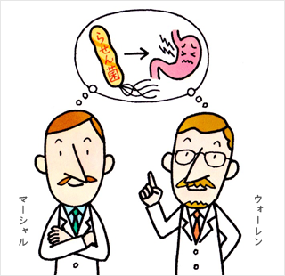 ピロリ菌の発見 | ピロリ菌って...
